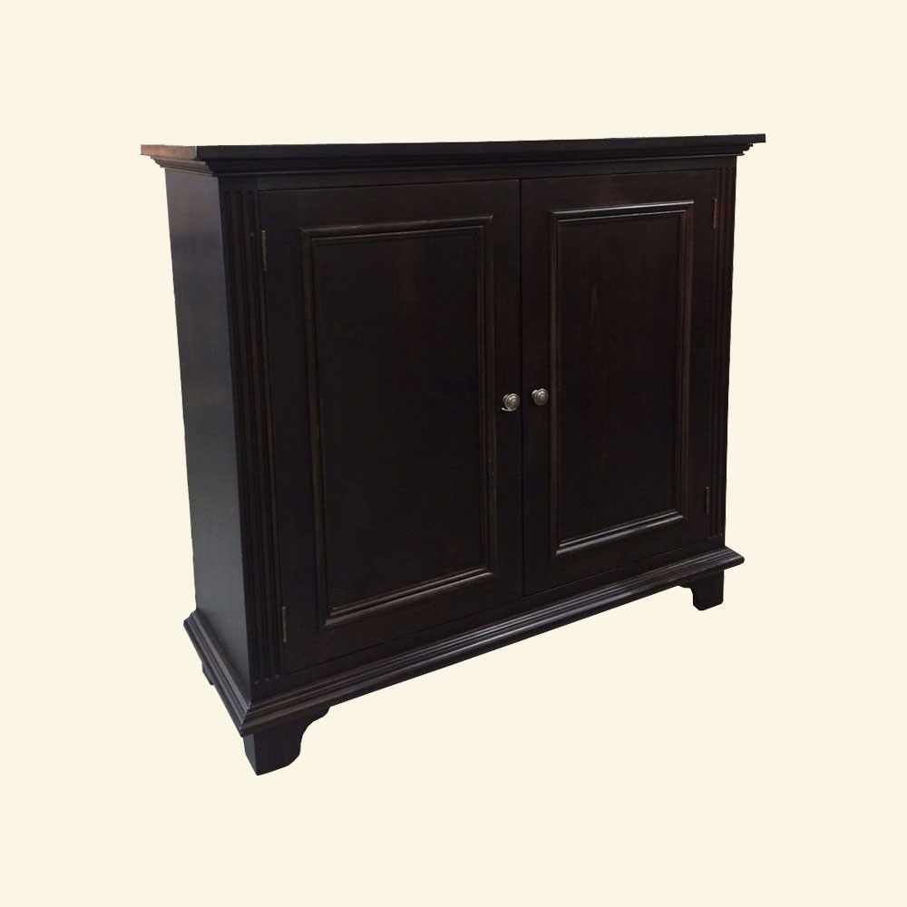 French Country Two Door Tall Buffet stained