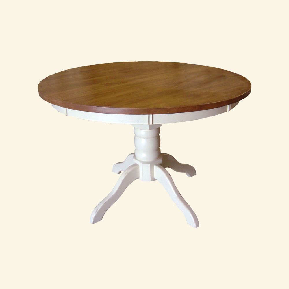 48 Round Pedestal Dining Table