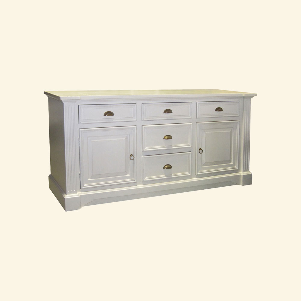 French Provincial Buffet painted