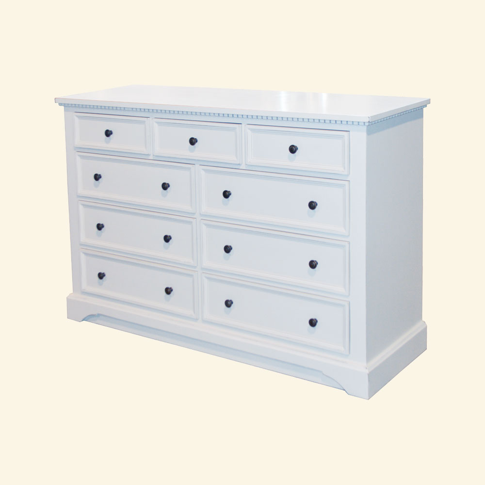 French Provincial Dresser, painted
