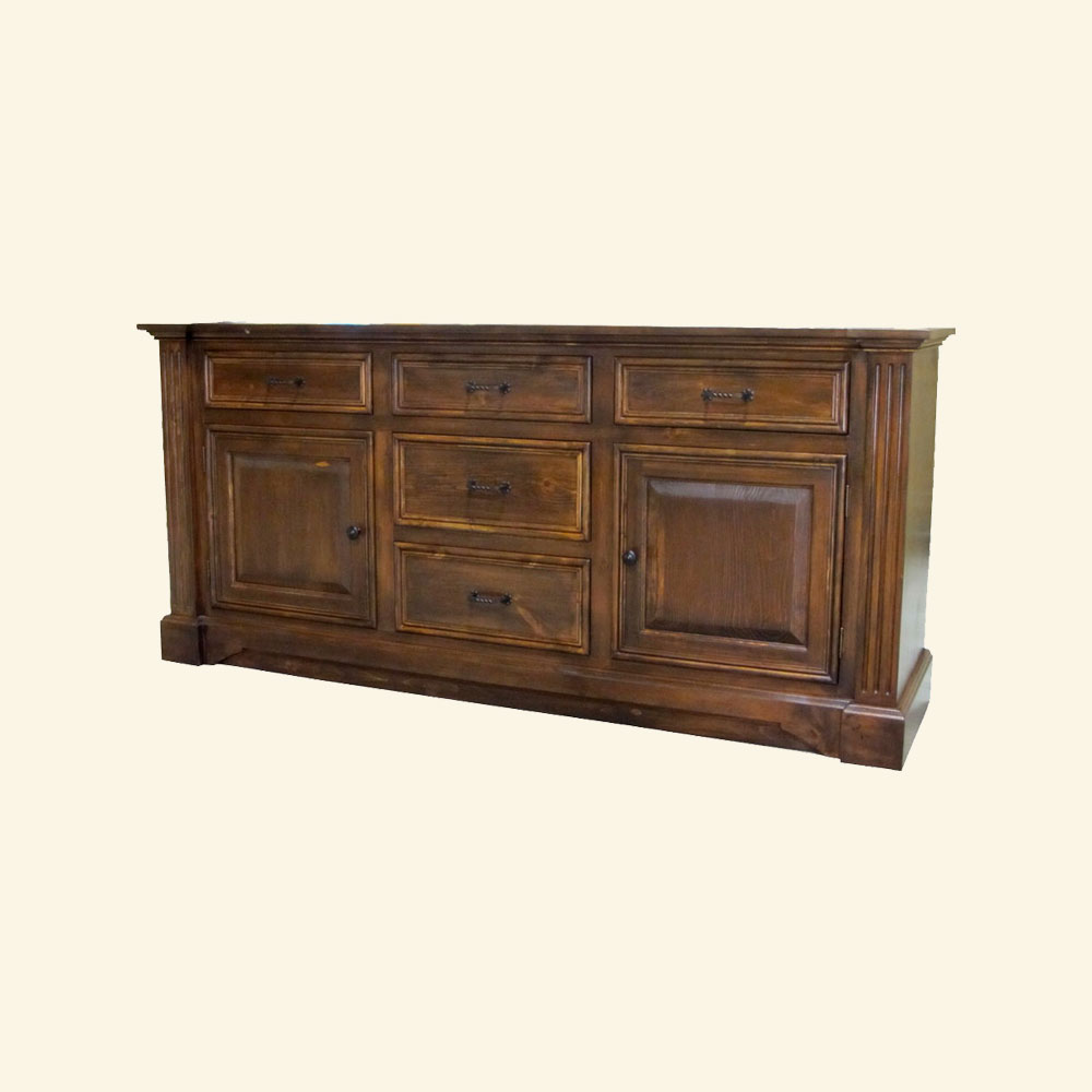 French Provincial Buffet stained