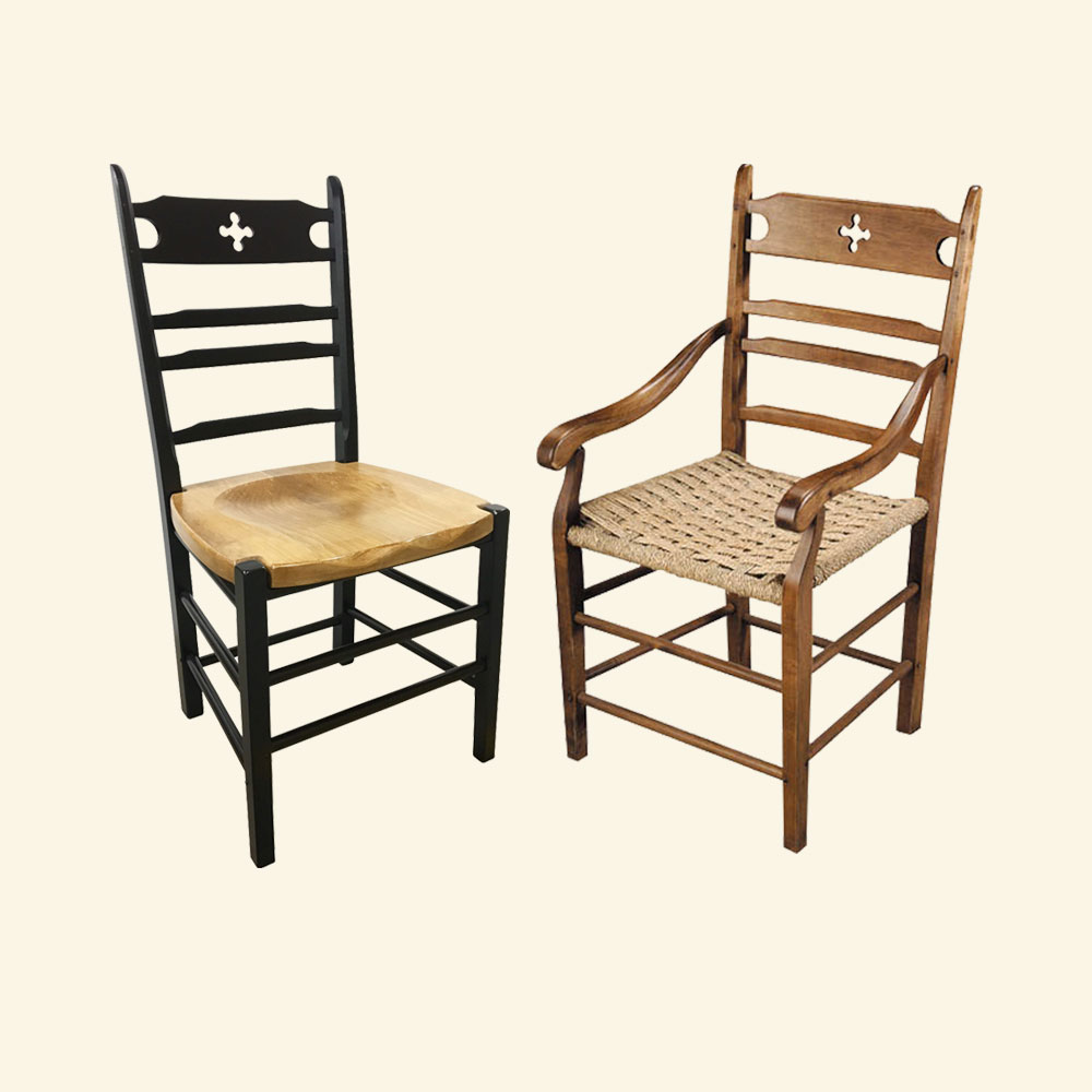 Paysanne Dining Chairs, Arm and Side