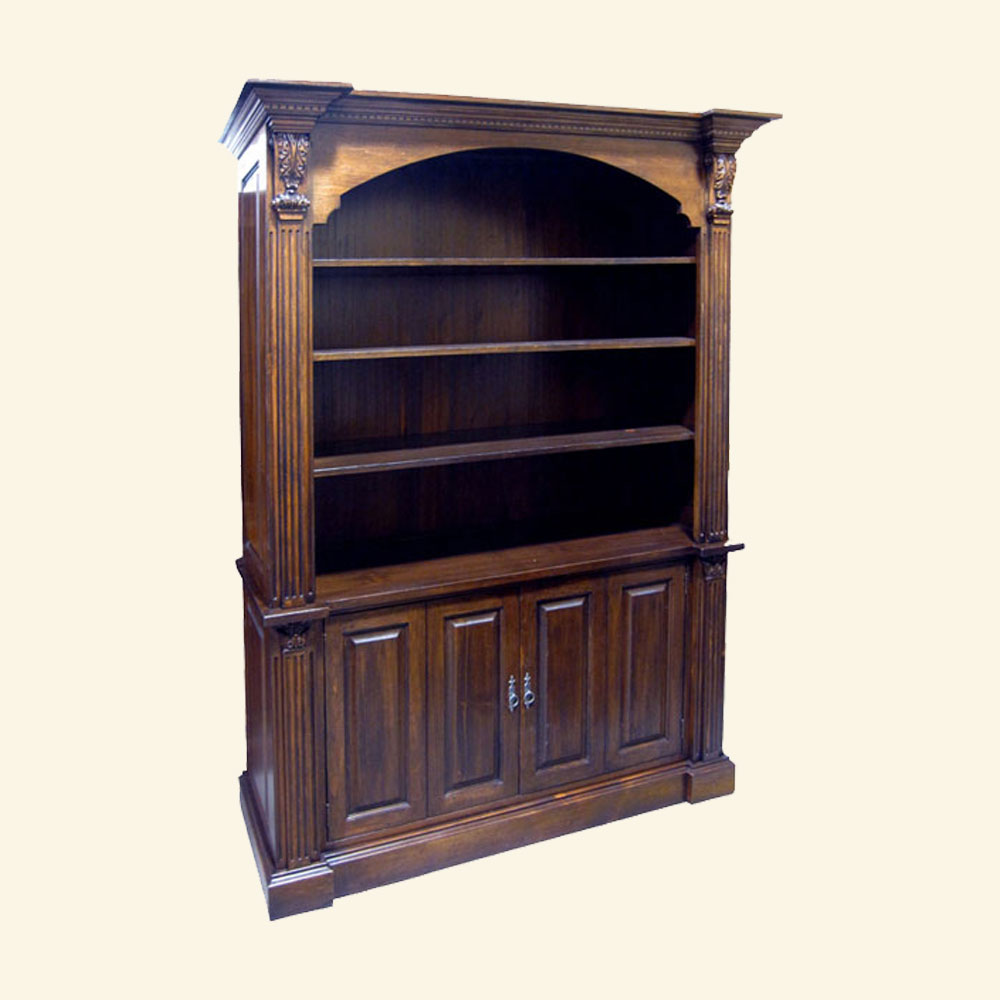 French Provincial Bookcase French Country Office Furniture