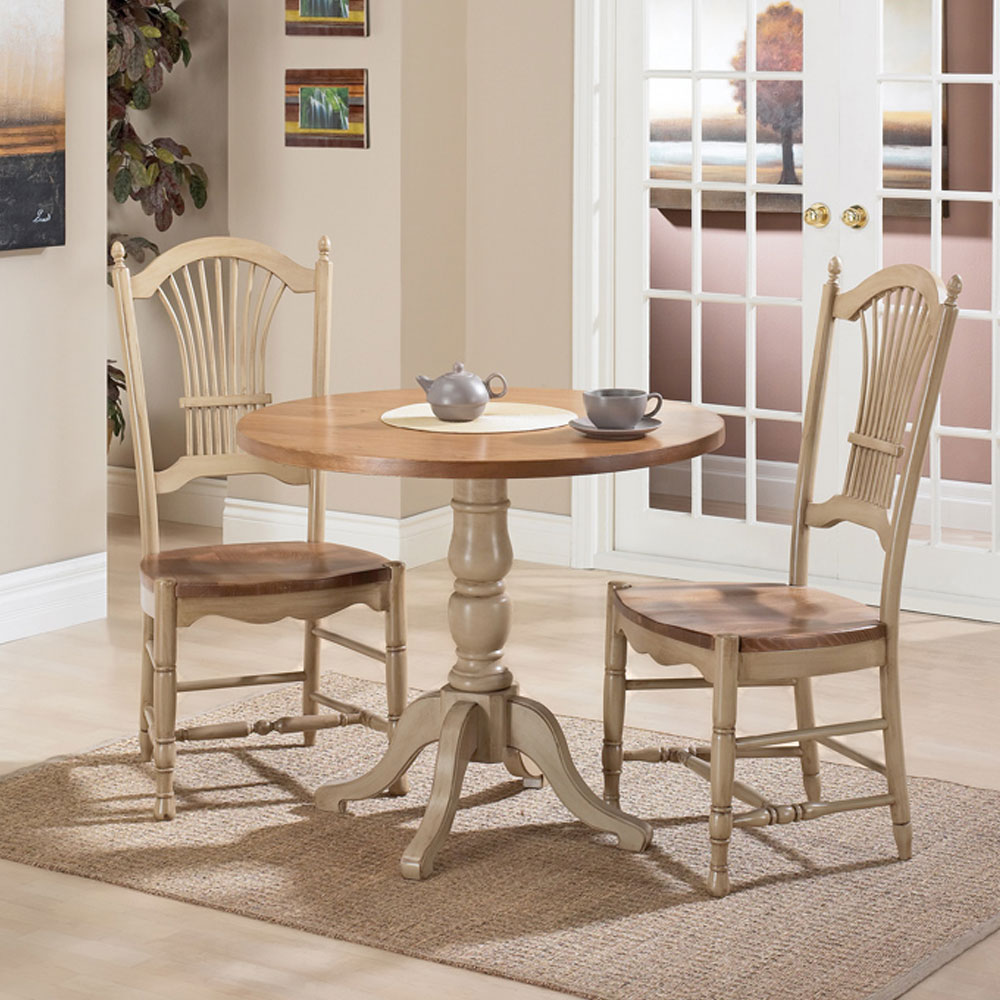 French Country 36 inch top bistro table