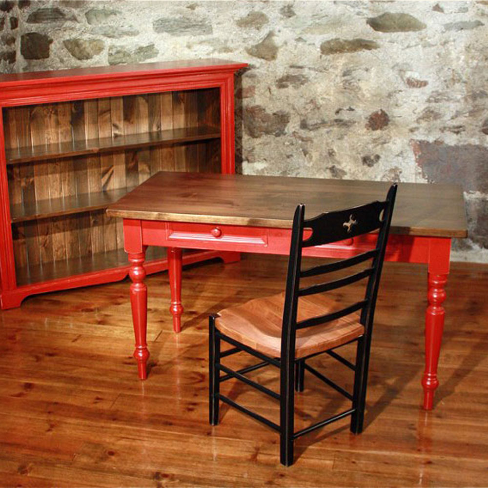 French Country Writing Table, Room Set