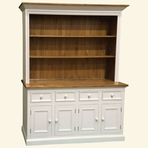 4 Door Open Shelf Cupboard