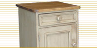 french country end tables and occasional tables