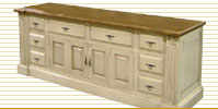 french country tv stands and tv consoles