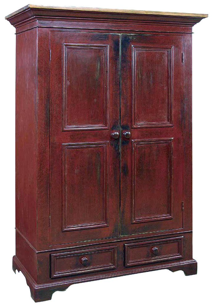 Barn Red Milk Paint Distressed Furniture Finish Kate