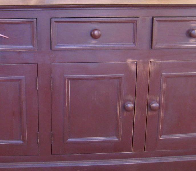 Cranberry Milk Paint Distressed Furniture Finish Kate Madison Furniture
