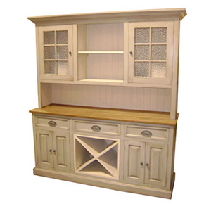 Wine Hutch Large Setback Hutch