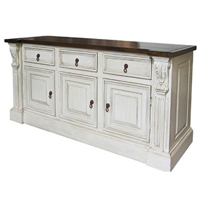 French Country Sideboard Low Console