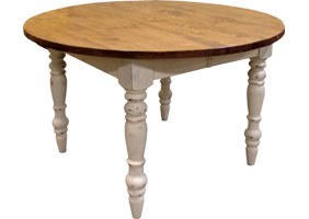 48 inch Round Dining Table in Champlain