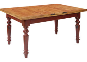 Butterfly Table in Barn Red