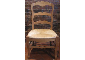 Country French Ladderback Chair Country French Ladderback Dining
