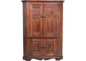 French Country Corner TV Armoire | French Country Living ...