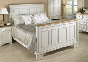 Paneled Bed Complete Bedroom set