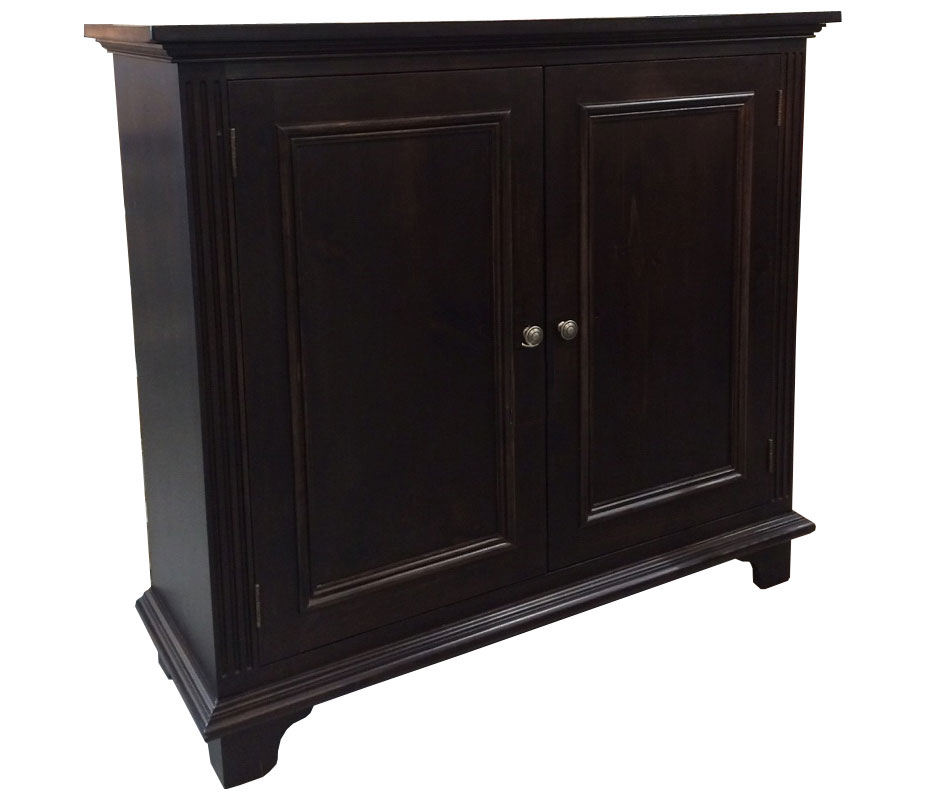 two door tall buffet stained espresso
