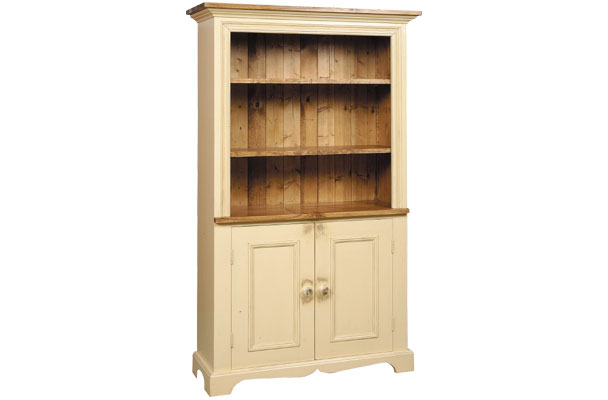 French Country Hutch Bookcase
