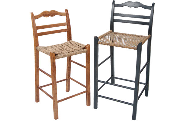 French Country Ladderback Barstool French Country
