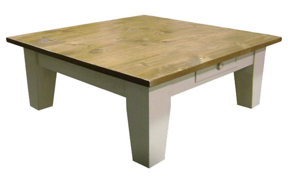 54 inch square leg coffee table kate madison furniture With 54 inch square coffee table