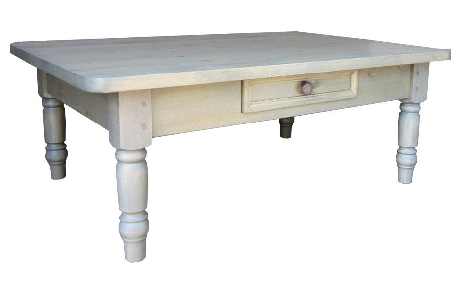 Turned Leg Coffee Table Kate Madison Furniture