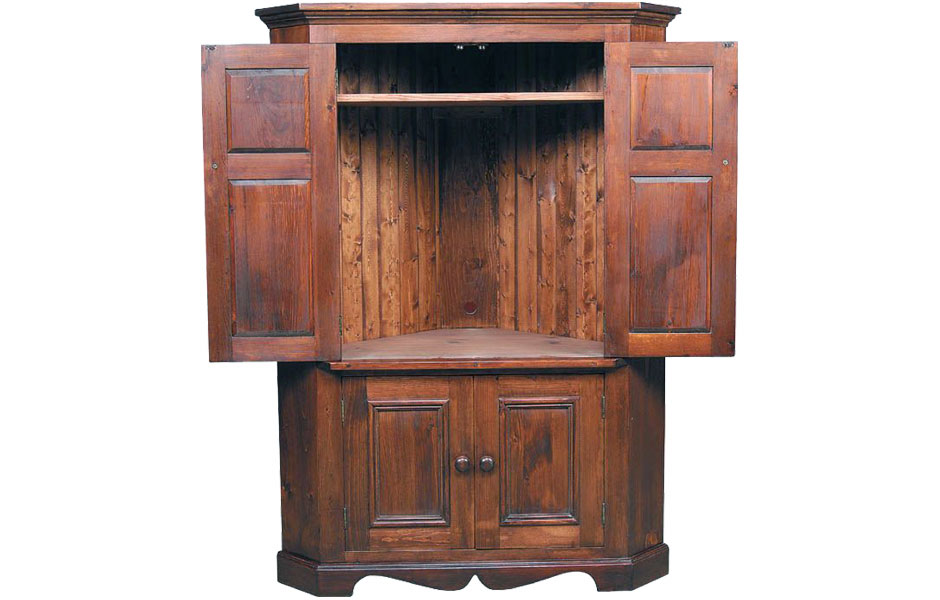 Armoire doors traditional tv armoire with doors for Armoire tv