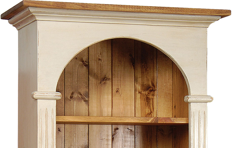 French Country Domed Top Bookcase French Country Living
