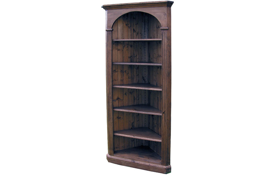 Home · Office Furniture · Bookcases; Domed Corner Bookcase. Zoom