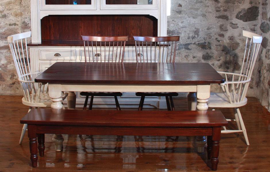 Fan Back Dining Chair Set In Sturbridge White