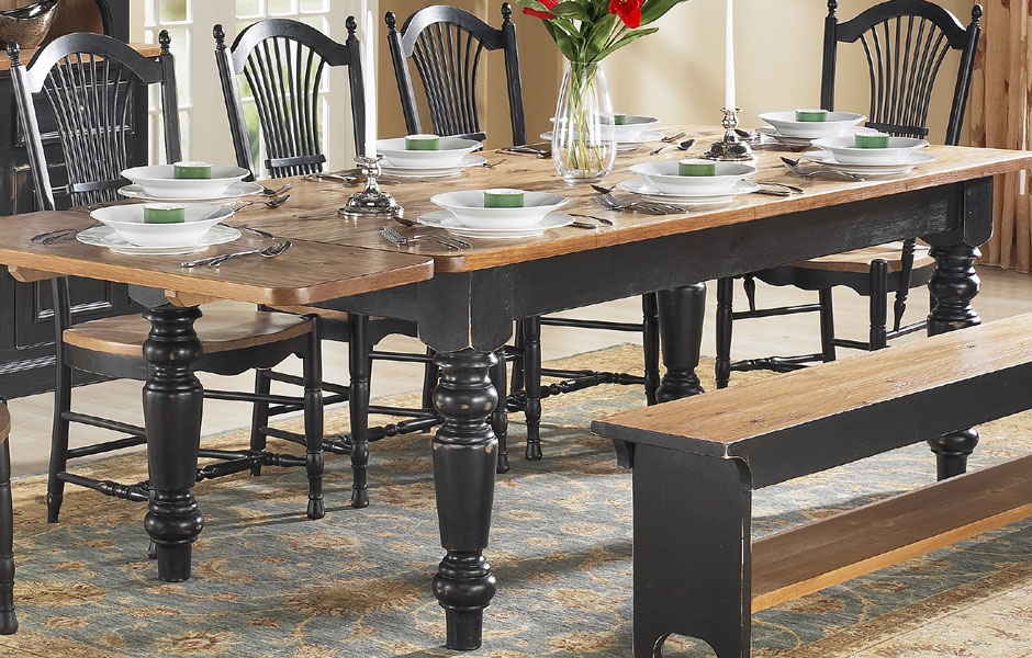 French Country Farm Table Dining