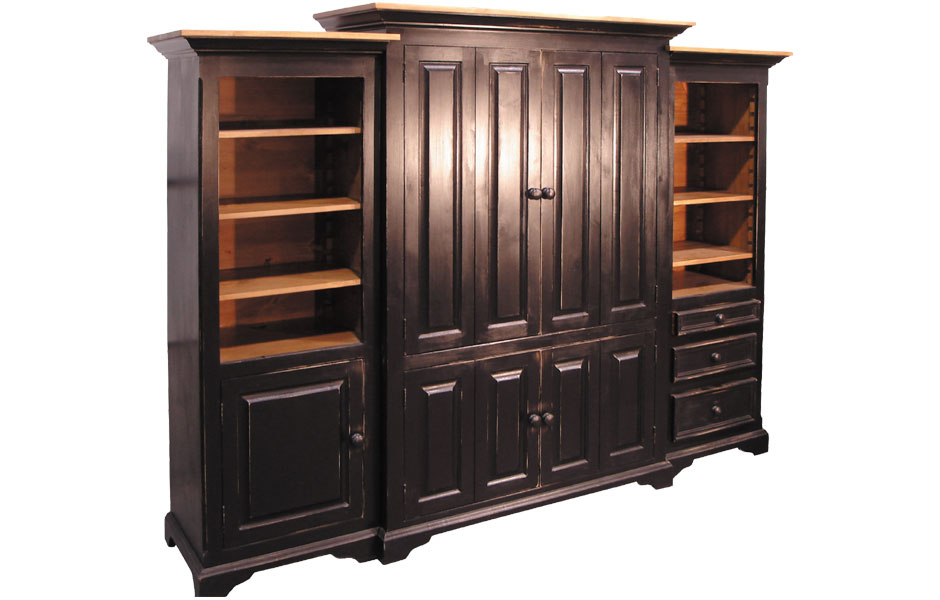 Flat screen entertainment center armoire kate madison for Entertainment armoire