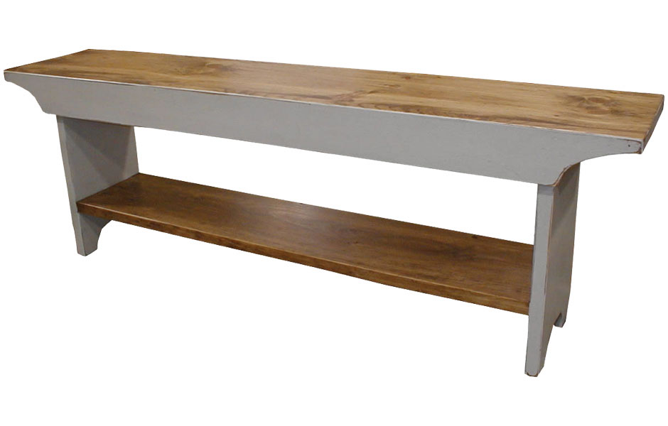 French Country Bench In 48, 60, 72, And 84 Inch Lengths ...