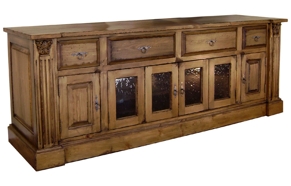 French Provincial Media Console Kate Madison Furniture