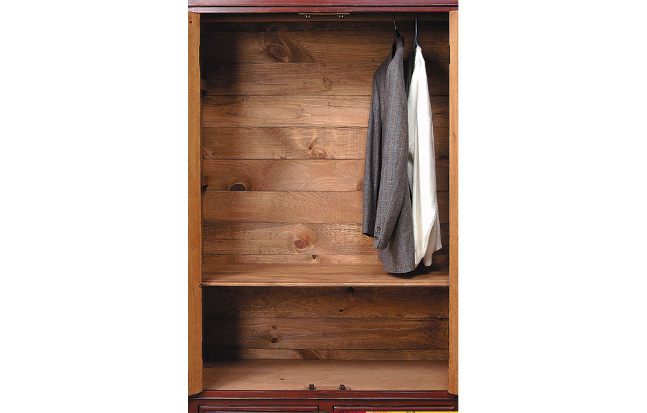 Garde robe armoire kate madison furniture - Garderobeopening ...
