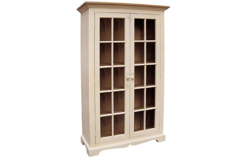 Glass Door Bookcase Kate Madison Furniture