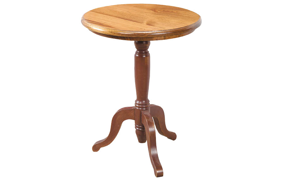 Pedestal End Table Kate Madison Furniture
