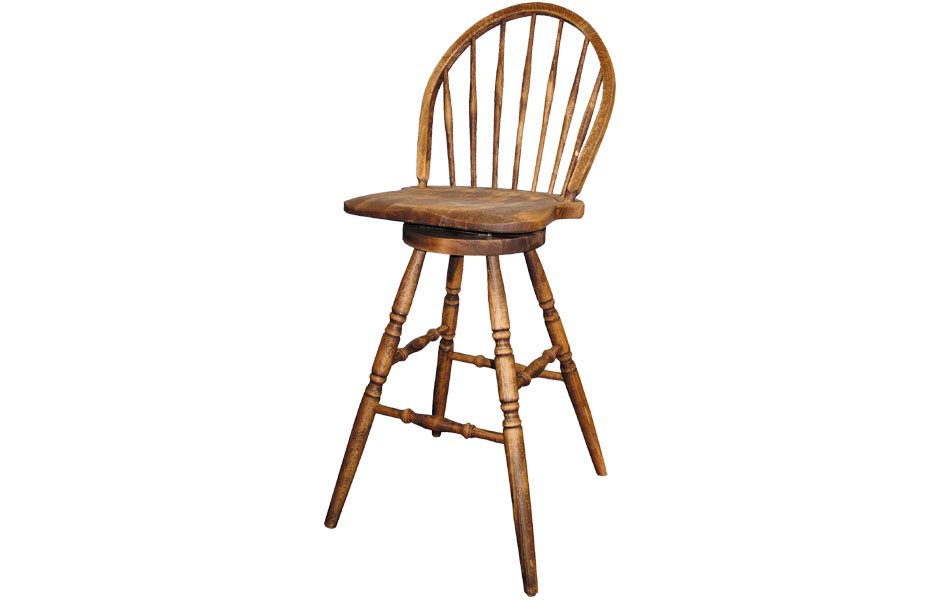 French Country Windsor Barstool Windsor Counter Stool