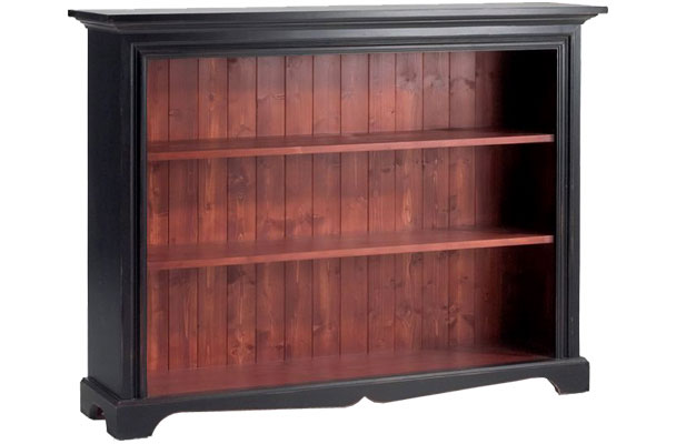 French Country Short Bookcase