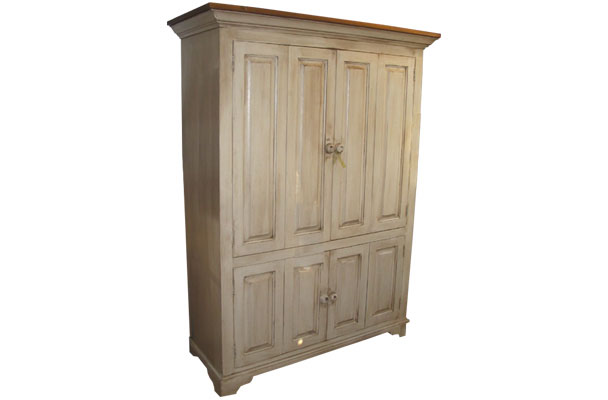French Country Flat Screen TV Armoire