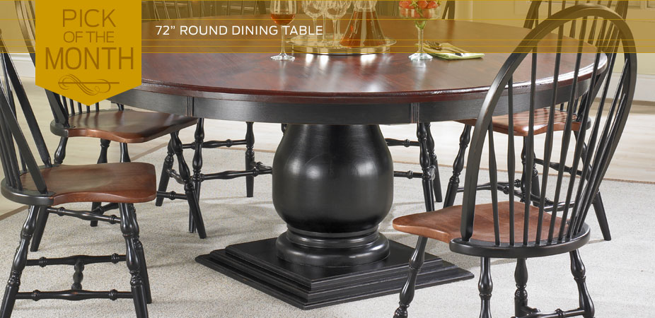 72 inch round dining table. French Country Furniture   Kate Madison Furniture