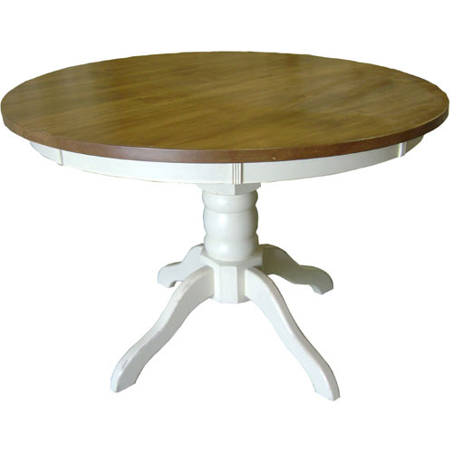 french country 48 round pedestal table 48 round