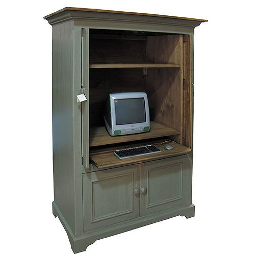 french country computer armoire cambridge computer armoire. Black Bedroom Furniture Sets. Home Design Ideas