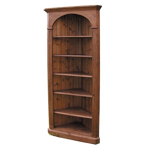 French Country Furniture, Domed Corner Bookcase made in country french ...