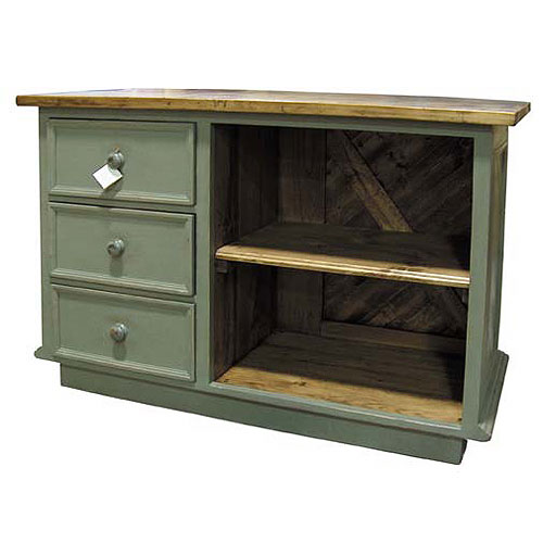 French Country Kitchen Island: French Country Kitchen Island Three Vertical Drawers