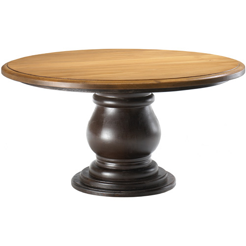 Round Coffee Table Round Pedestal Coffee Table Kate Madison Furniture