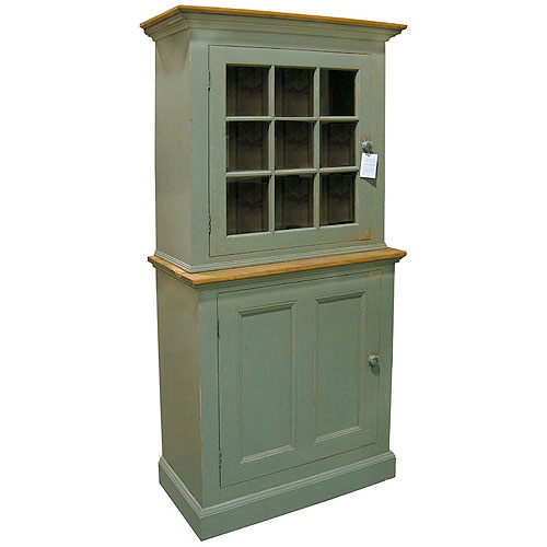 French Country Single Stepback Cupboard One Door Cupboard