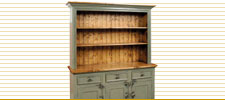 Three Door Open Shelve Cupboard