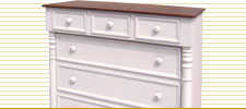 Bonnet Chest of Drawers
