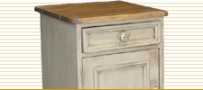 Door and Drawer Nightstand